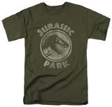 Jurassic Park - JP Stamp T-Shirt