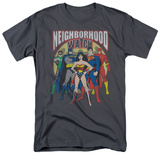 Justice League - Neighborhood Watch T-Shirt