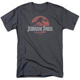Jurassic Park - Faded Logo T-Shirts