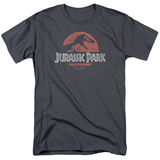Jurassic Park - Faded Logo T-shirts