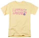 I Dream Of Jeannie - Retro Logo T-shirts