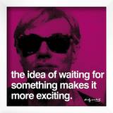 Waiting Art by Andy Warhol