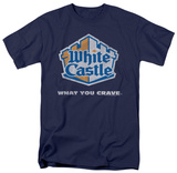 White Castle - Distressed Logo T-Shirt