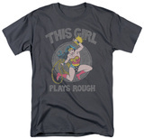 Wonder Woman - Plays Rough Shirts
