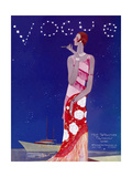 Vogue Cover - July 1926 Metal Print by Eduardo Garcia Benito