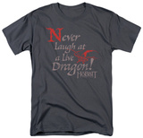The Hobbit: The Desolation of Smaug - Never Laugh T-shirts