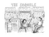 Captionless - New Yorker Cartoon Premium Giclee Print by Roz Chast