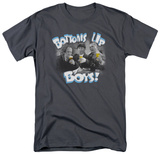 The Three Stooges - Bottoms Up T-shirts