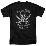 The Princess Bride - The Real Dread Pirate Roberts T-shirts