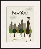 New York Posters by Blanca Gomez