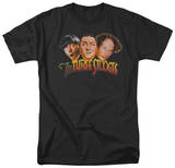 The Three Stooges - Three Head Logo T-shirts