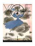 Vogue Cover - March 1933 Metal Print by Georges Lepape