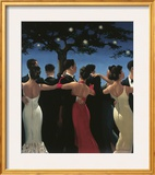 Waltzers Poster by Jack Vettriano