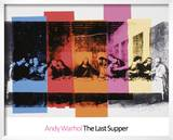 Detail of the Last Supper, 1986 Prints by Andy Warhol