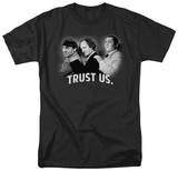 The Three Stooges - Trust Us T-shirts