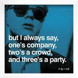 Three's a Party Art by Andy Warhol