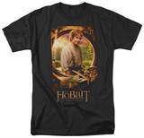 The Hobbit: An Unexpected Jouney - Bilbo Poster T-shirts