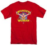 Wonder Woman - Flying Through T-shirts