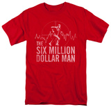 The Six Million Dollar Man - Target Shirts