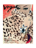 "Vogue Cover - November 1939 Metal Print by Carl ""Eric"" Erickson"