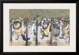 Let the Wild Rumpus Start II Print by Maurice Sendak