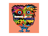 Owl, Vector Illustration, Illustration for T-Shirt, Illustration for Children (A Series of Popular Prints by De Visu