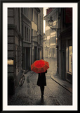 Red Rain Posters by Stefano Corso