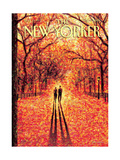 The New Yorker Cover - November 9, 2009 Metal Print by Eric Drooker