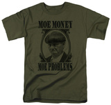 The Three Stooges - Moe Money Shirts