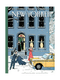 The New Yorker Cover - February 10, 1997 Metal Print by Jean Claude Floc'h