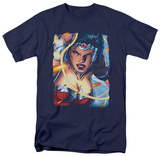 Wonder Woman - Scowl T-Shirt