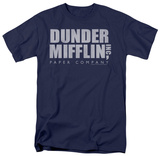 The Office - Dunder Mifflin Distressed T-shirts