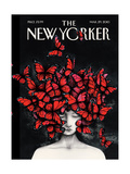 The New Yorker Cover - March 29, 2010 Metal Print by Ana Juan