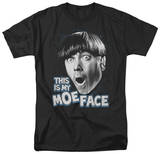 The Three Stooges - Moe Face T-shirts