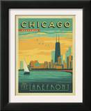 Chicago, Illinois: Enjoy The Lakefront Prints by  Anderson Design Group