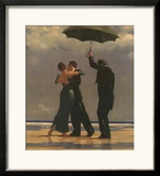 Dancer In Emerald Posters by Jack Vettriano