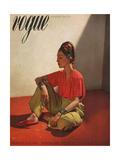 Vogue Cover - April 1939 Metal Print by Horst P. Horst