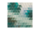 Geometric Background Prints by Maksim Krasnov