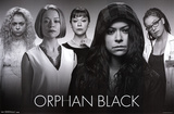 Orphan Black - Faces Prints