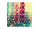 Vector Abstract Colorful Geometric Pattern Print by Maksim Krasnov
