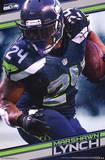 Seattle Seahawks - M Lynch 14 Print