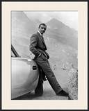 "Sean Connery. ""007, James Bond: Goldfinger"" 1964, ""Goldfinger"" Directed by Guy Hamilton Framed Photographic Print"