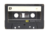 Audio Cassette Isolated on White Prints by  Zibedik