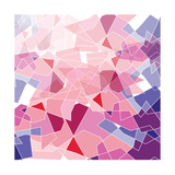 Geometric Background Posters by  ApichartMeesri