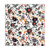 Colorfull Floral Pattern Prints by  ukix21