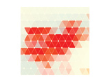 Vector Geometric Background Prints by Maksim Krasnov