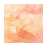 Abstract Triangles Geometry Vector Background Prints by  art_of_sun