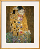 The Kiss, c.1907 Framed Giclee Print by Gustav Klimt