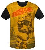 Forbidden Planet - Strang World Black Back T-shirts