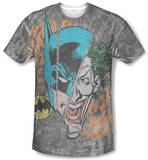 Batman - Broken Visage T-shirts